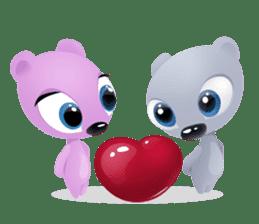 Pink & Larry sticker #6100217