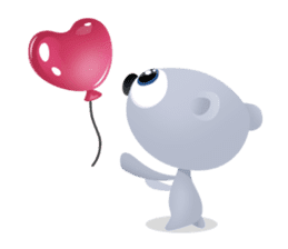 Pink & Larry sticker #6100219
