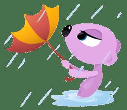 Pink & Larry sticker #6100230