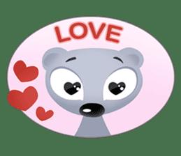 Pink & Larry sticker #6100233