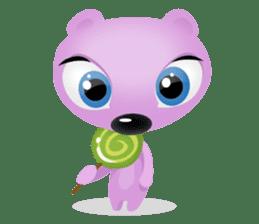 Pink & Larry sticker #6100235