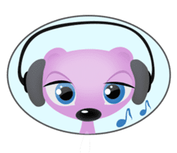 Pink & Larry sticker #6100237