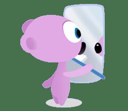 Pink & Larry sticker #6100240