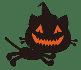"""Halloween Kitten """"Pump"""" ver.e sticker #6103603"""