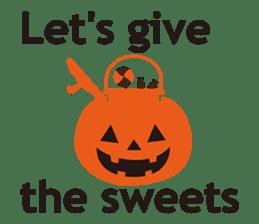 """Halloween Kitten """"Pump"""" ver.e sticker #6103610"""