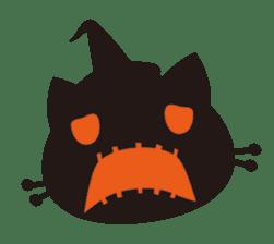 """Halloween Kitten """"Pump"""" ver.e sticker #6103614"""