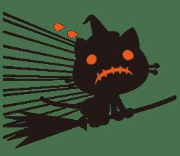 """Halloween Kitten """"Pump"""" ver.e sticker #6103620"""