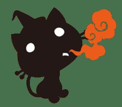 """Halloween Kitten """"Pump"""" ver.e sticker #6103621"""
