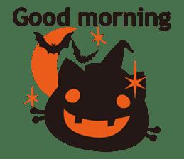 """Halloween Kitten """"Pump"""" ver.e sticker #6103625"""