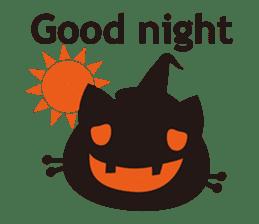 """Halloween Kitten """"Pump"""" ver.e sticker #6103626"""