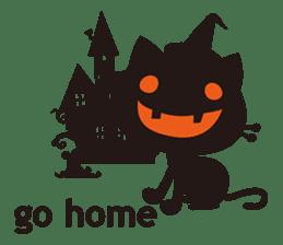 """Halloween Kitten """"Pump"""" ver.e sticker #6103628"""