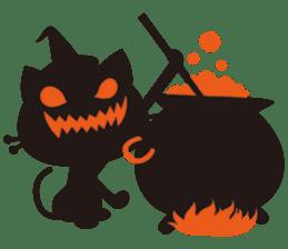 """Halloween Kitten """"Pump"""" ver.e sticker #6103630"""