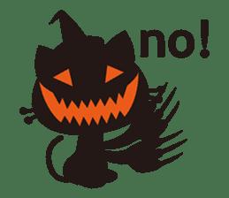 """Halloween Kitten """"Pump"""" ver.e sticker #6103632"""