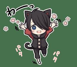 BLACK KITTEN 3 sticker #6107086