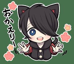 BLACK KITTEN 3 sticker #6107087