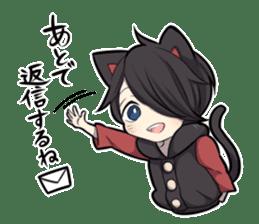 BLACK KITTEN 3 sticker #6107099