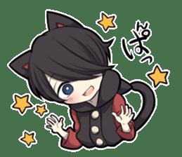 BLACK KITTEN 3 sticker #6107118