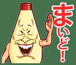 Mayonnaise Man 3 sticker #6111361