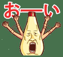 Mayonnaise Man 3 sticker #6111368