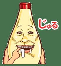 Mayonnaise Man 3 sticker #6111369