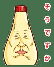 Mayonnaise Man 3 sticker #6111378