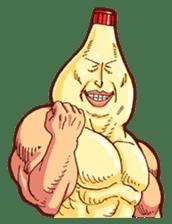 Mayonnaise Man 3 sticker #6111395