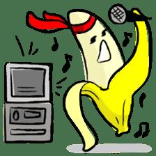 hard work banana sticker #6119450