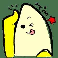 hard work banana sticker #6119470