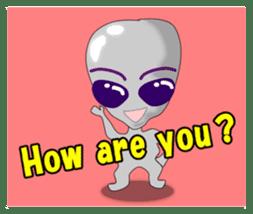 Lovely Aliens sticker #6124880