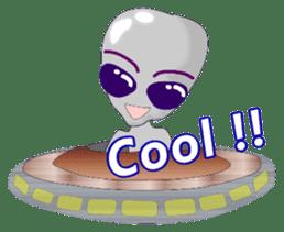 Lovely Aliens sticker #6124881