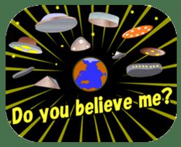 Lovely Aliens sticker #6124901