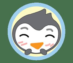 Mr. Robin : Little Cute Penguin sticker #6126592