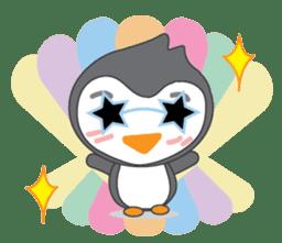 Mr. Robin : Little Cute Penguin sticker #6126597