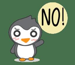 Mr. Robin : Little Cute Penguin sticker #6126600