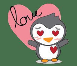 Mr. Robin : Little Cute Penguin sticker #6126601
