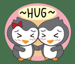 Mr. Robin : Little Cute Penguin sticker #6126602