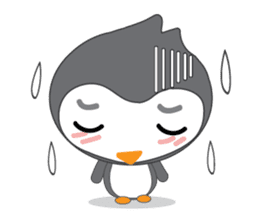 Mr. Robin : Little Cute Penguin sticker #6126608