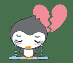 Mr. Robin : Little Cute Penguin sticker #6126611