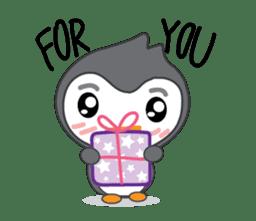 Mr. Robin : Little Cute Penguin sticker #6126613