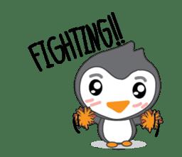 Mr. Robin : Little Cute Penguin sticker #6126614