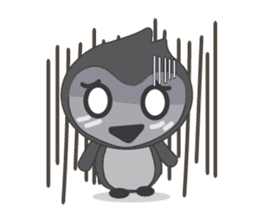 Mr. Robin : Little Cute Penguin sticker #6126618