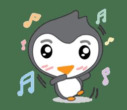 Mr. Robin : Little Cute Penguin sticker #6126621