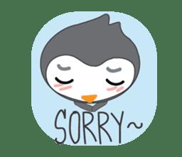 Mr. Robin : Little Cute Penguin sticker #6126622