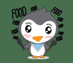 Mr. Robin : Little Cute Penguin sticker #6126623