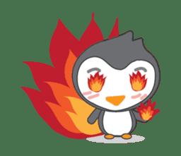 Mr. Robin : Little Cute Penguin sticker #6126624