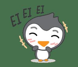 Mr. Robin : Little Cute Penguin sticker #6126625