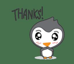 Mr. Robin : Little Cute Penguin sticker #6126630