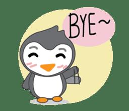 Mr. Robin : Little Cute Penguin sticker #6126631