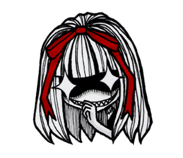 red bow (Eng Ver.) sticker #6131078
