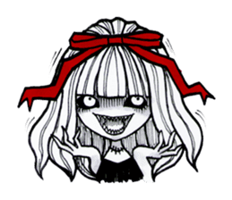 red bow (Eng Ver.) sticker #6131098